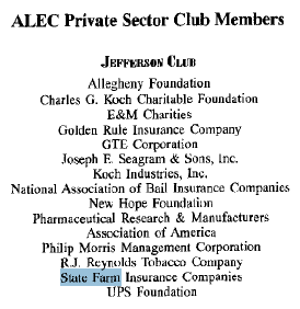 State Farm Insurance Claims No Fault In Bankrolling Alec Pr Watch