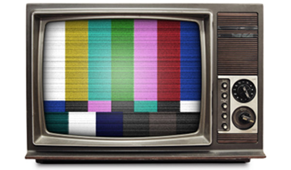 Who Stole Television News PR Watch Fascinating Old Tv Test Pattern