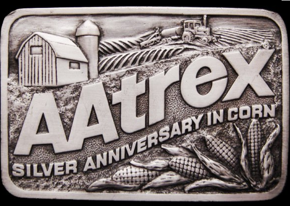 AAtrex belt buckle