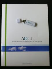 ACCCE USB drive from ALEC's 2012 States & Nation Policy summit
