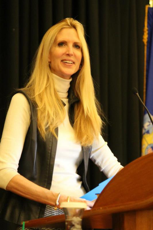 Ann Coulter speaks at AFP event