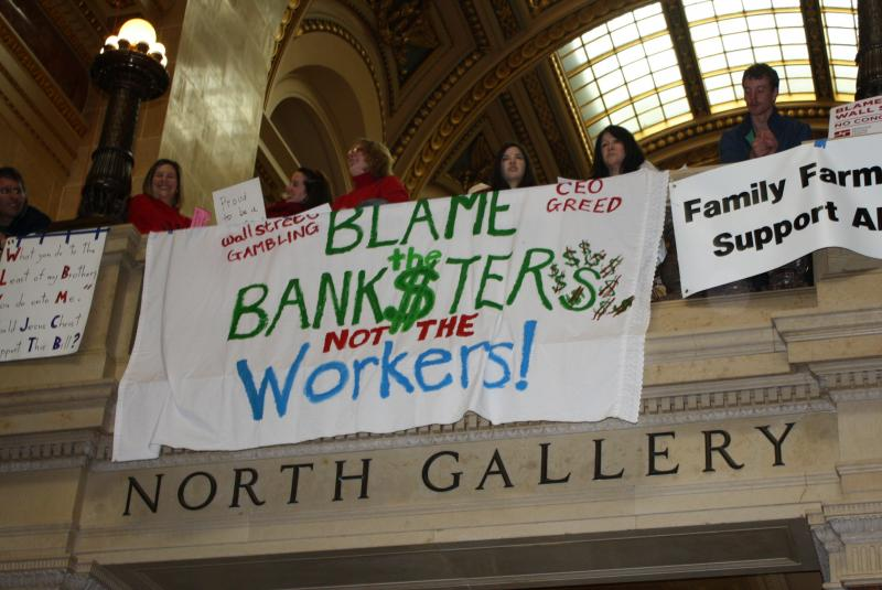 Blame the Banksters Not the Workers!