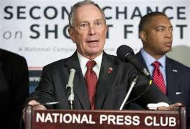 "NYC Mayor Michael Bloomberg at ""Second Chance at Shoot First"""