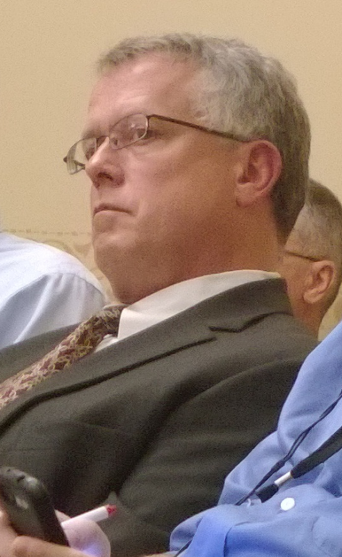 GTac lobbyist Bob Seitz at hearing
