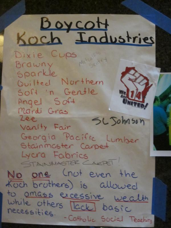 Boycott Koch Industries