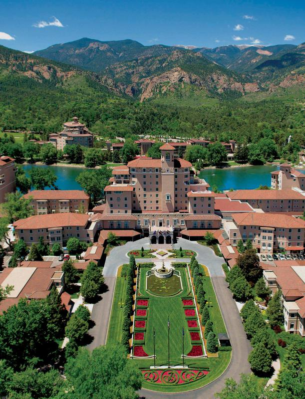 The Broadmoor Hotel & Resort, Colorado Springs, CO