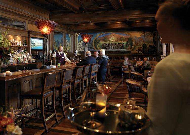 Bar at Broadmoor Hotel in Colorado Springs