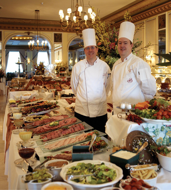 Chefs at Broadmoor Hotel in Colorado Springs