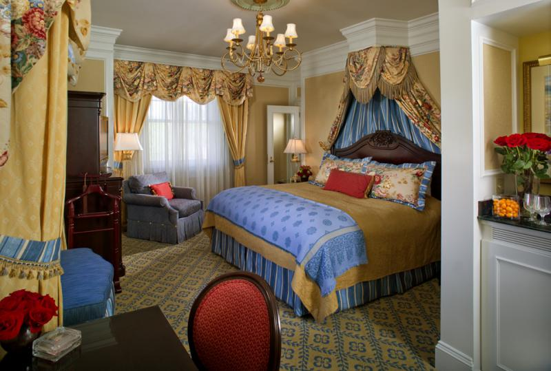 Room with alcove at Broadmoor Hotel in Colorado Springs