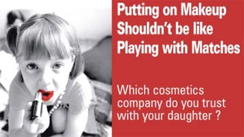 Campaign for Safe Cosmetics ad