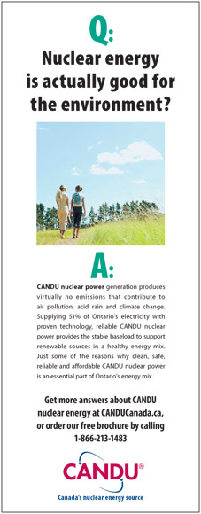CANDU Ad: An advertisement from Team CANDU's 2006 advertising campaign