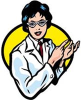 Cartoon doctor