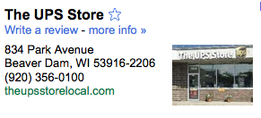 Citizens for a Strong America advertises its address as 834 Park Avenue #306 in Beaver Dam, Wisconsin, but this address is nothing more than a box at a UPS Store