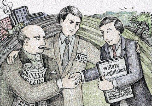 ALEC: A Conduit Between Corporations and Legislators