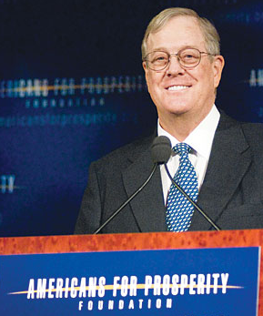 David Koch's Americans for Prosperity