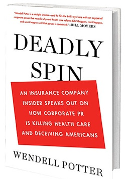 Deadly Spin book cover