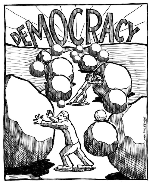 Democracy (Source: John Digesare)