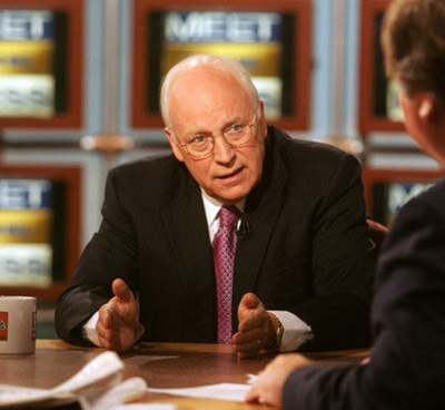 Former VP Dick Cheney