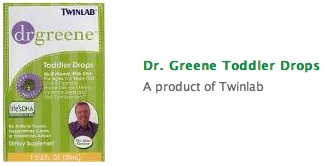Dr. Greene Toddler Drops