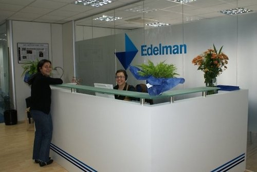 Edelman's Madrid office (Source: Edelman)