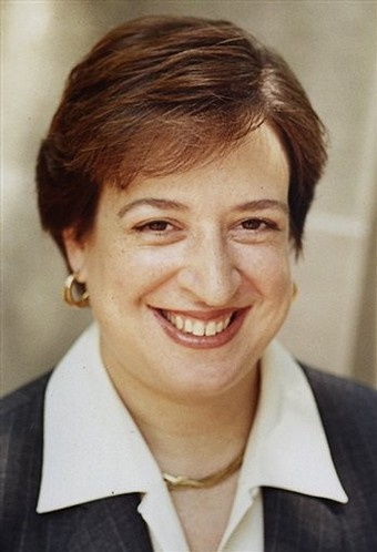 Elena Kagan, newly appointed Supreme Court Justice