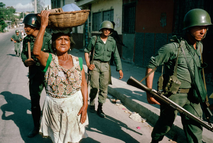 Photo from El Salvador's civil war