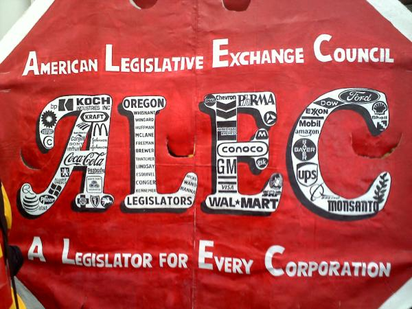ALEC (A Legislator for Every Corporation)