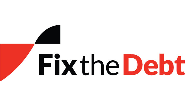 Fix the Debt logo