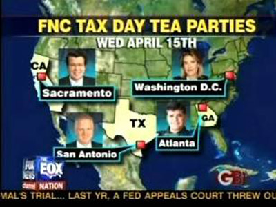 Fox News Channel Tea Parties