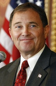 Utah Governor Gary Herbert spoke at the Utah ALEC meeting