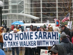 Go Home Sarah! & Take Walker With You!