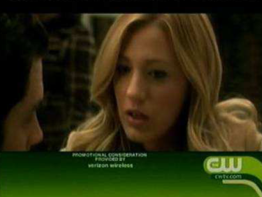 "This fine-print disclosure, for CW's ""Gossip Girl,"" was on screen for less than one second, according to the Writers Guild"