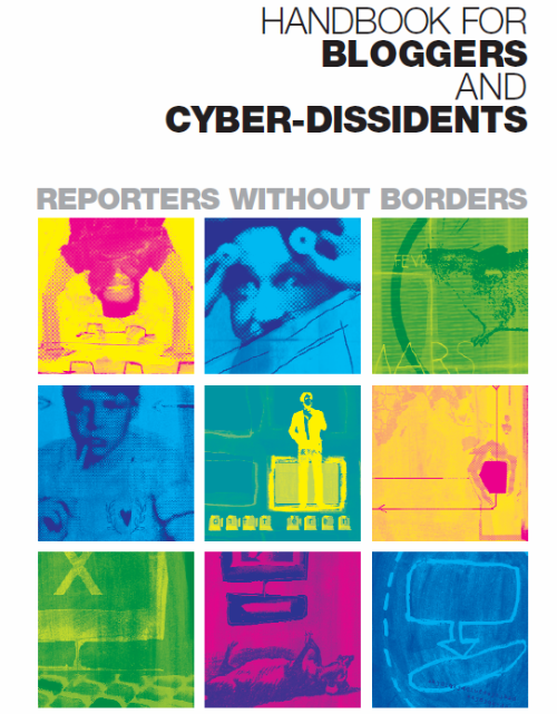 Handbook for Bloggers and Cyber-Dissidents cover