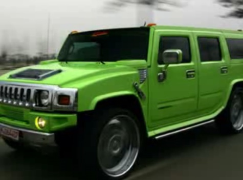 Can you green a Hummer?