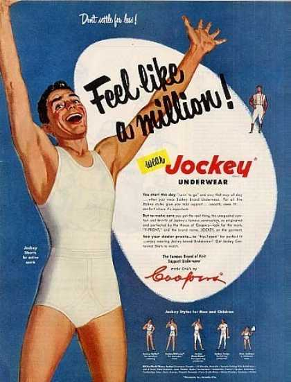 Jockey underwear - Feel like a million