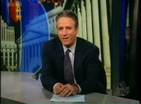 "Jon Stewart of Comedy Central's ""Daily Show"""