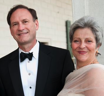 Justice Samuel Alito and his wife, Martha