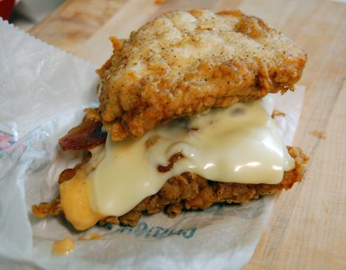 "KFC's new ""Double Down"""