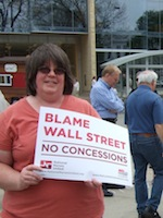 Kim Grveles of Wisconsin Resists