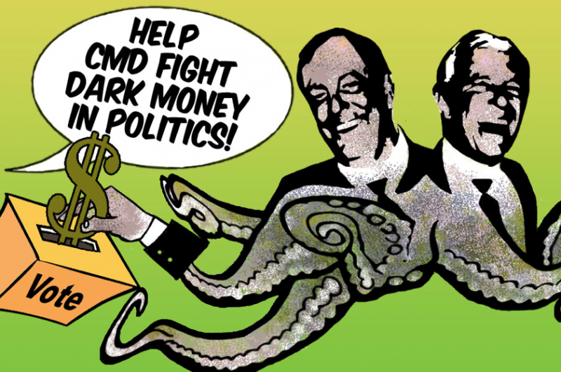 Koch Dark Money Kochtopus