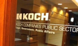 Koch's lobbying shop