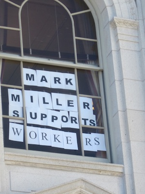 Mark Miller Supports Workers