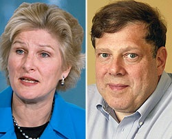 Karen Hughes and Mark Penn