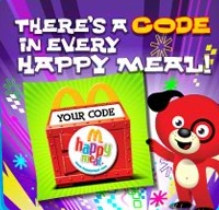From McDonalds kids' Web site, HappyMeal.com