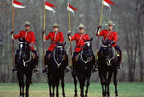 Who could blame them if they sent the Mounties to the border?