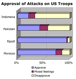 Muslim opinion of the United States