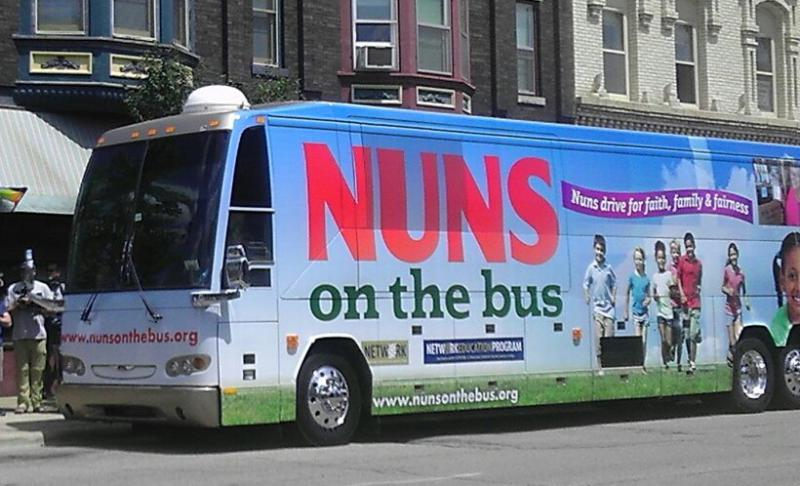 Nuns on the bus