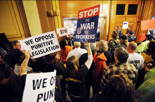 Workers Oppose Punitive Legislation