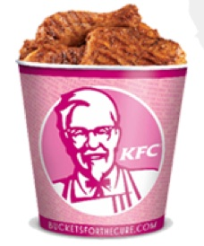 "KFC ""Buckets for the Cure"""