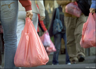 Cities, towns, even entire countries are phasing out plastic shopping bags.